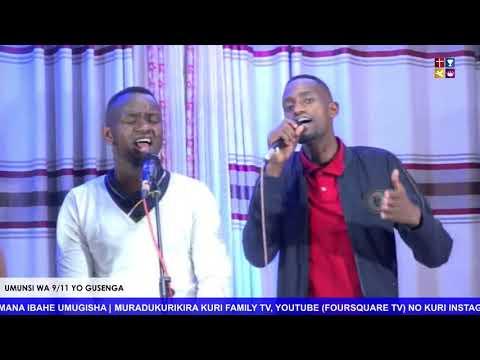 FOURSQUARE  IMINSI 11 YO GUSENGA - UMUNSI WA 9 HAMWE NA BISHOP DR. FIDELE MASENGO