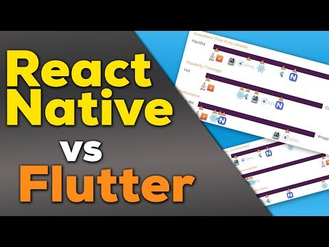 React Native vs Flutter - UCSJbGtTlrDami-tDGPUV9-w