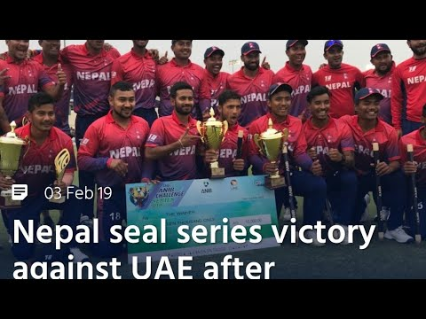 #NepalVsUAE#T20 3rd day