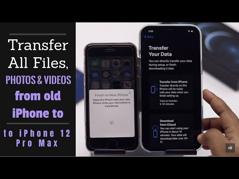 Transfer Everything Old iPhone to iPhone 12 Pro Max 2021