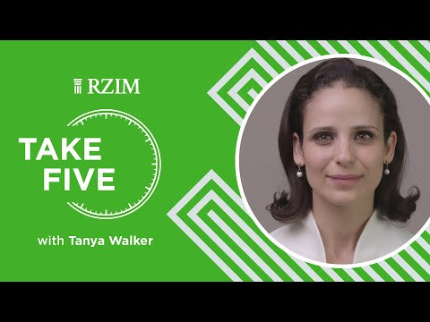 Where Do You Go, When You Reach the End of Yourself?  Tanya Walker  Take Five  RZIM