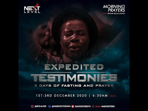 Next Level Prayer: Pst Bolaji Idowu 1st December 2020