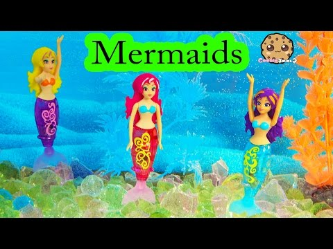 3 MY MAGICAL MERMAIDS Friends Swim Like Magic In Water - Cookieswirlc Toy Play Video - UCelMeixAOTs2OQAAi9wU8-g