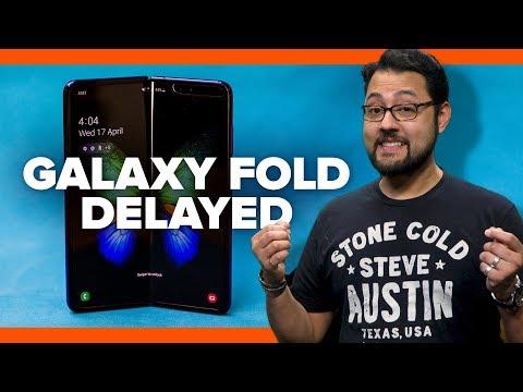 Samsung Galaxy Fold delayed due to screen breaks (Alphabet City) - UCOmcA3f_RrH6b9NmcNa4tdg