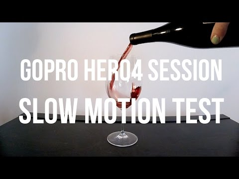 GoPro HERO4 Session Slow Motion Test