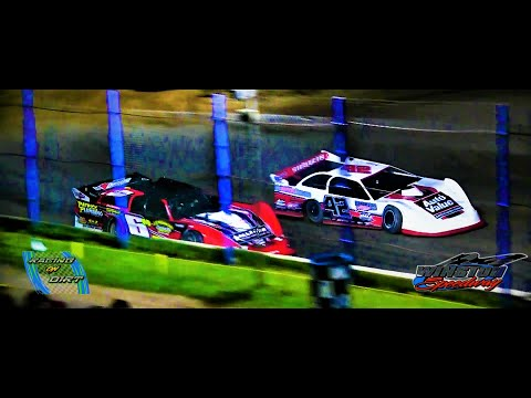 8-27-21 Late Model Feature Winston Speedway - dirt track racing video image