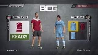 Fifa Street 4 PS3 English Premier League Select Team Ratings And Kits