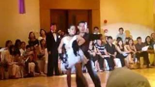 BIDA Teachers Competing in Latin Ballroom Dance