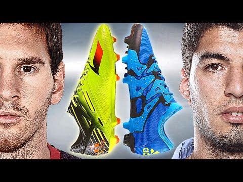 Messi VS Suarez - Battle: adidas Messi15 vs. X15 - Test & Review - UCC9h3H-sGrvqd2otknZntsQ