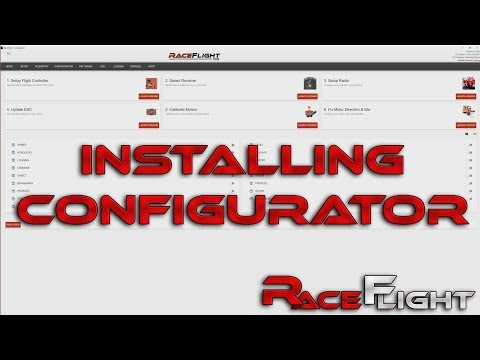 Installing the Configurator for the Revolt Flight Controller with RaceFlight One - UCrDqXVdOO2dC420YMLuFwMw
