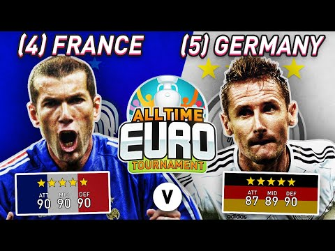 France All-Time XI ?? vs Germany All-Time XI ?? | FIFA 20 All-Time EURO!