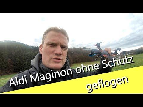Aldidrohne Maginon QC-50S ohne Probellerschutz geflogen - bringt es mehr Geschwindigkeit? - UCNWVhopT5VjgRdDspxW2IYQ