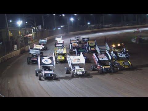 2011 Tri-City Sprintcar Shootout: Maryborough Speedway - 22nd April 2011 - dirt track racing video image