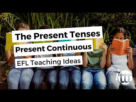 English Grammar - Present Contiuous - Teaching Ideas 3