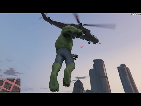 Grand Theft Auto IV - The Incredible Hulk Script (MOD) OFFICIAL