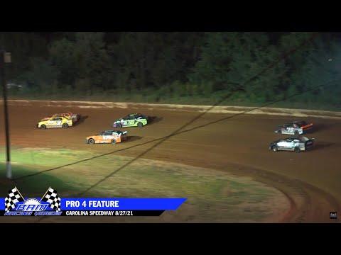 Pro 4 Feature - Carolina Speedway 8/27/21 - dirt track racing video image