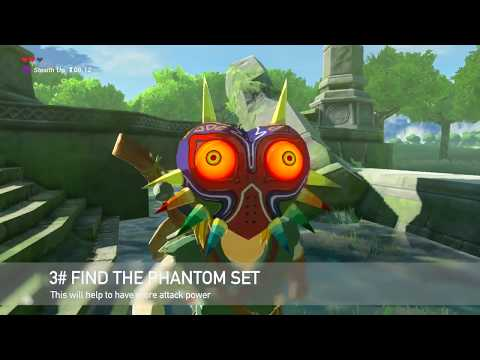 Zelda Breath of The Wild: *Pro Tips*  Master Mode - default
