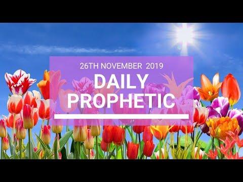 Daily Prophetic 26 November Word 4