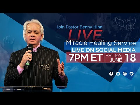 LIVE Miracle Healing Service with Pastor Benny Hinn!