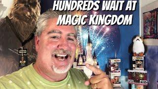 Hundreds Wait at Magic Kingdom Gates as Disney Manages Ticket Scanning System Problems