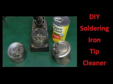 DIY Soldering Iron Tip Cleaner