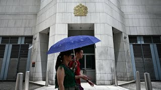 Beijing confirms detention of official from British consulate in Hong Kong