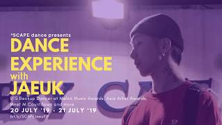 【JAEUK】 Singapore Kpop Dance Experience All Sessions
