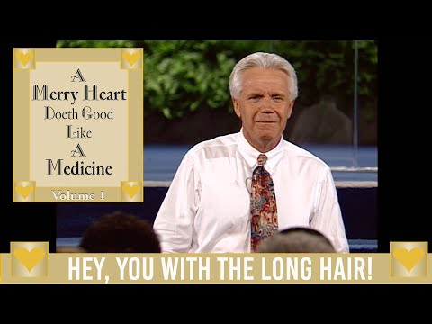 Merry Heart: Hey, You With the Long Hair!  Jesse Duplantis