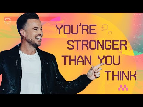 You're Stronger Than You Think  On The Money  Rich Wilkerson Jr.