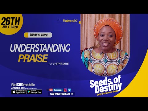 Dr Becky Paul-Enenche - SEEDS OF DESTINY - SUNDAY JULY 26, 2020.