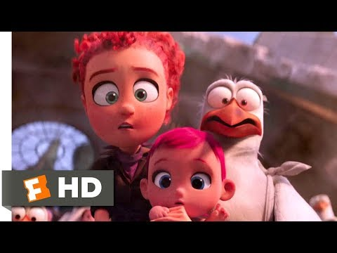 Storks (2016) - Boss Fight Scene (10/10) | Movieclips - UC3gNmTGu-TTbFPpfSs5kNkg