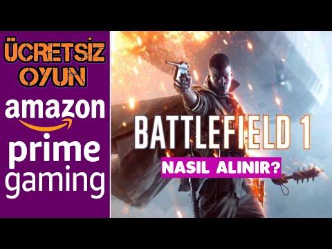Amozon Prime Üyelerine Battlefiled 1 ve Battlefiled 5(2Ağustos)Ücretsiz