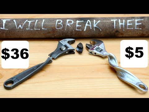 Testing Cheap V.S. Expensive Wrenches On AMAZON - UCMIjEnXruVHtvgSVf6TgfUg