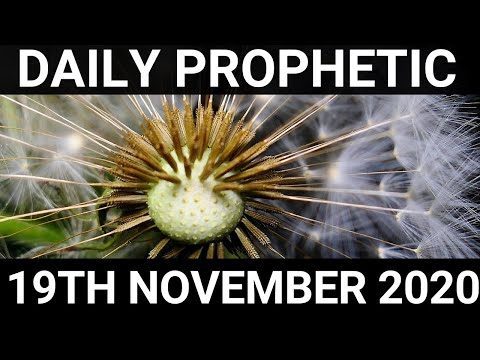 Daily Prophetic 19 November 2020 2 of 12