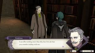 Fire Emblem Three Houses - Catherine's and Shamir's Request: Linhardt Has Two-Stone Whetstone (2019)