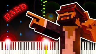 CaptainSparklez - Revenge - Piano Tutorial (Minecraft Parody of Usher's DJ's Got Us Falling In Love)