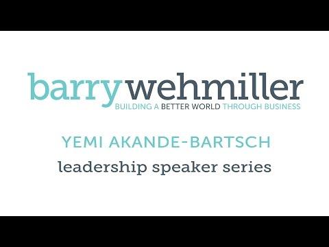 Yemi Akande-Bartsch at the BW Leadership Institute