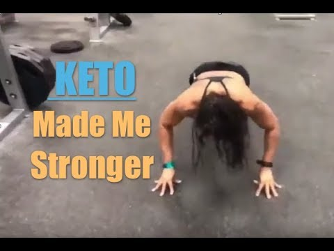 HOW KETO MADE ME STRONGER IN THE GYM - AFTER 10 YRS STRICT!