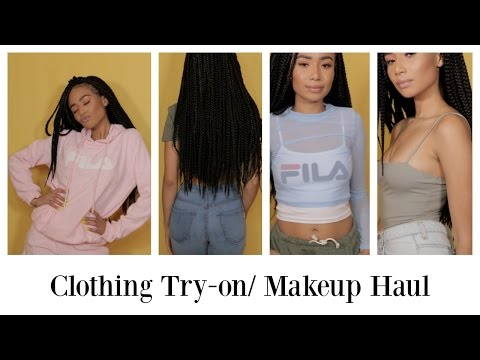 Clothing Try- On H&M F21 Steps | Sephora/ Ulta Makeup Haul