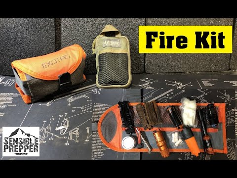 Fire Kit for Survival   Exotac Tool Roll