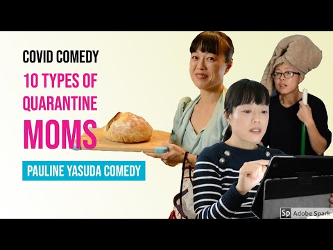 10 Types of Quarantine Moms: Funny Video
