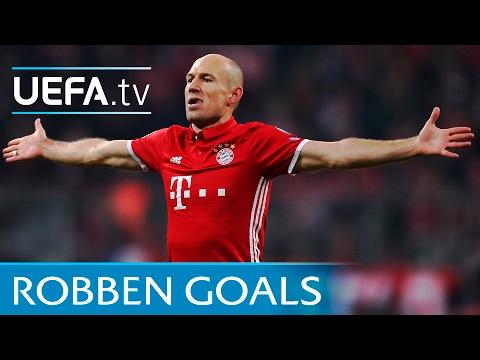 Five trademark Arjen Robben strikes