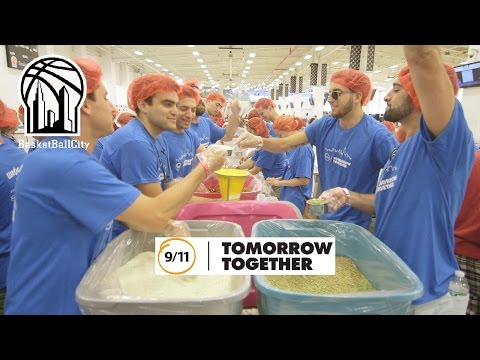Basketball City  hosts 9/11 Day of Service