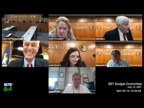 BET Budget Committee, July 13, 2021