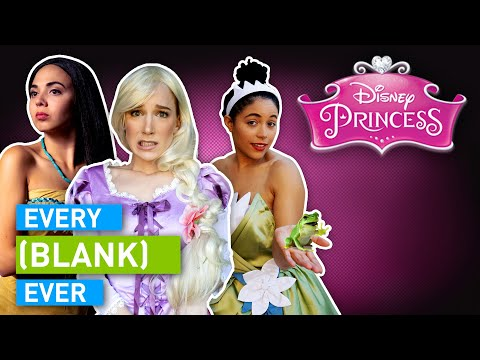 Every Disney Princess Ever