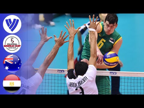 Australia vs. Egypt - Full Match | First Round | Men's Volleyball World Cup Japan 2015