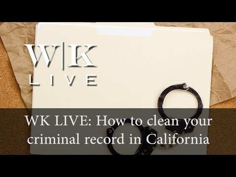 How to clean your criminal record (PC 1203.4)