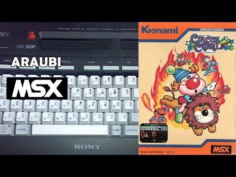 Circus Charlie (Konami, 1984) MSX [099] El Kiosko