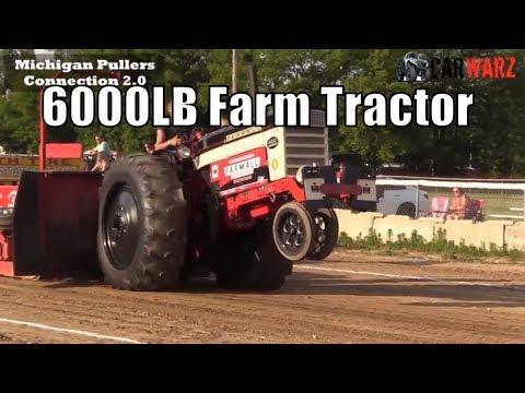 6000LB Farm Tractor Class At TTPA In Carsonville MI Day 02 2018