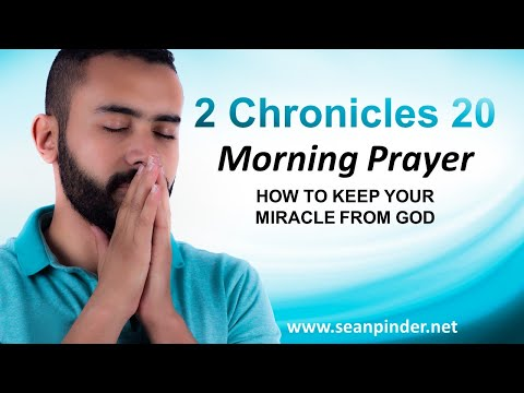 How to KEEP Your MIRACLE from God - Morning Prayer